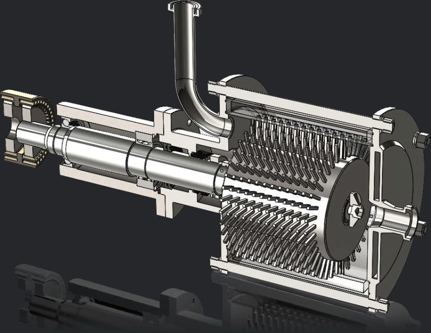 Maszyna - wizualizacja SolidWorks